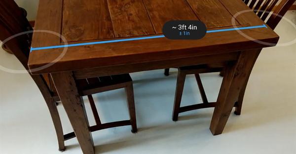 Google выпустил AR-приложение для повседневных измерений