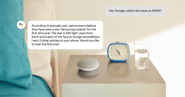 Google выпустил разметку для издателей, заинтересованных в Assistant