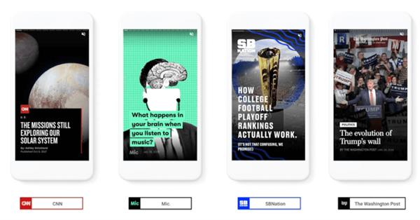 Google открыл AMP Stories для всех разработчиков