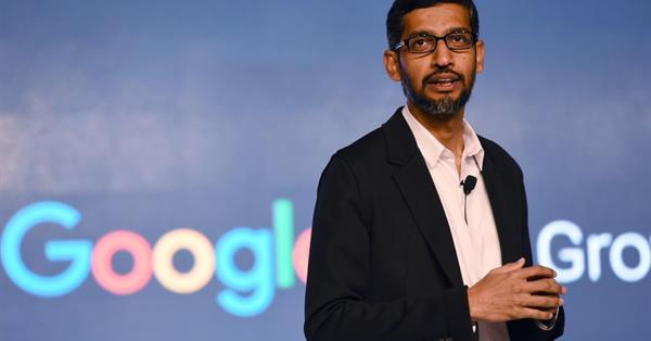 Глава Google Сундар Пичаи ответит на вопросы Вашингтона о цензуре и Китае