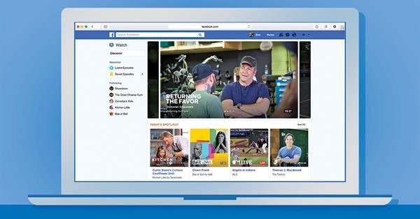 Видеосервис Facebook Watch запускается по всему миру