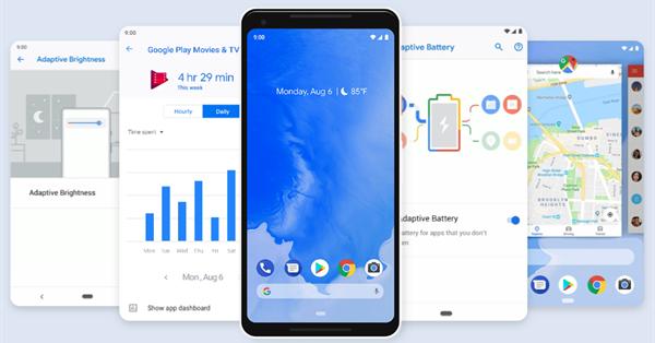Google представил Android 9 Pie