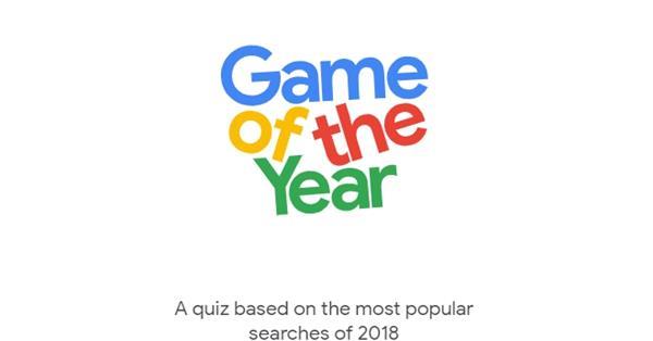 Google запустил игру, основанную на поисковых трендах 2018 года