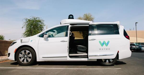 Waymo запустит первый в мире сервис беспилотных такси в декабре