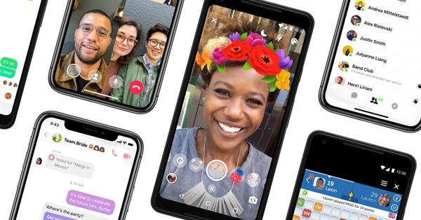 Facebook упростил интерфейс Messenger