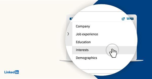 В LinkedIn стал доступен таргетинг по интересам
