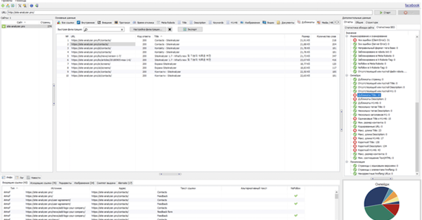 Вышла новая версия SiteAnalyzer 1.8