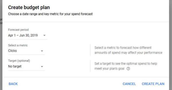 Google Ads тестирует инструмент для планирования бюджета