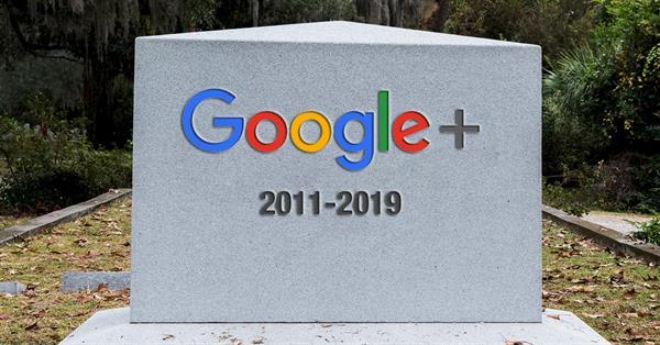 Социальная сеть Google+ будет закрыта 2 апреля