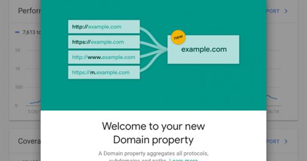 Google запустил доменные ресурсы в Search Console