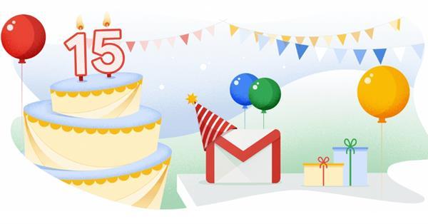 Gmail исполнилось 15 лет