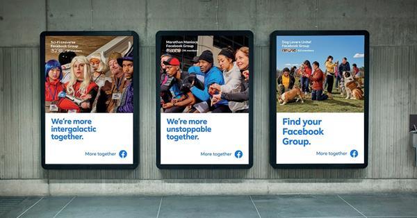 Facebook запустил масштабную рекламу обновлённых групп