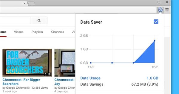 Google отключает десктопное Chrome-расширение Data Saver