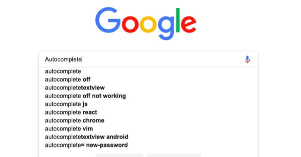 Google тестирует новое поведение функции автозаполнения