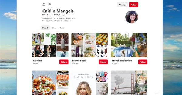 Pinterest выпустил веб-приложение для Windows 10