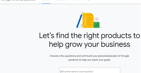 Новый сайт Google поможет малому бизнесу начать работу с продуктами компании