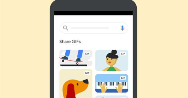 В поиске по картинкам Google теперь можно делиться GIF
