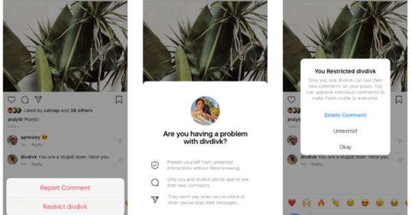 Instagram протестирует возможность скрывать комментарии от недоброжелателей