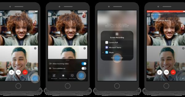 Skype разрешил делиться экраном на iOS и Android