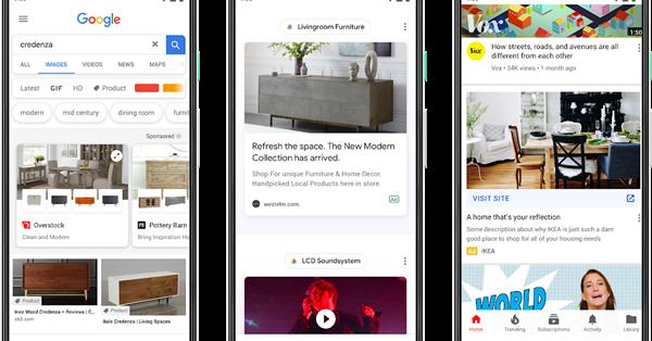 Новый формат Gallery Ads в Google Рекламе стал доступен на русском языке