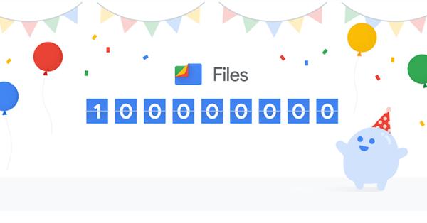 Ежемесячная аудитория Files от Google превысила 100 млн пользователей