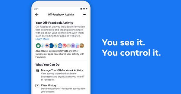 Facebook покажет пользователям, какие сайты передают данные об их поведении