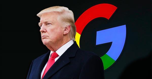 Трамп заявил, что «очень внимательно» наблюдает за Google