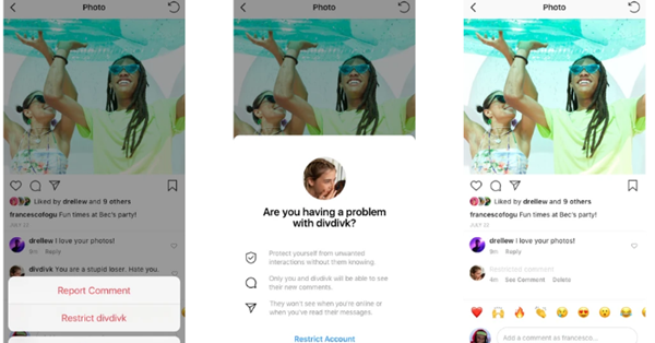 """Instagram позволил отправлять недоброжелателей в """"теневой бан"""""""