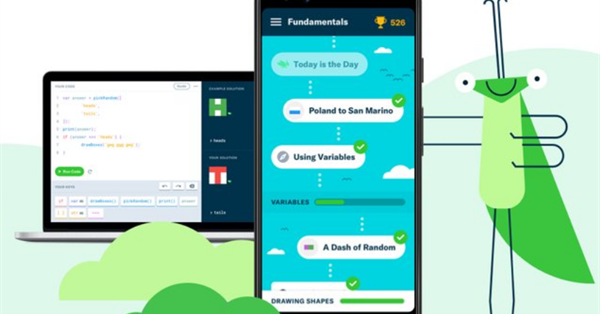 Приложение по обучению программированию Grasshopper от Google стало доступно для десктопов
