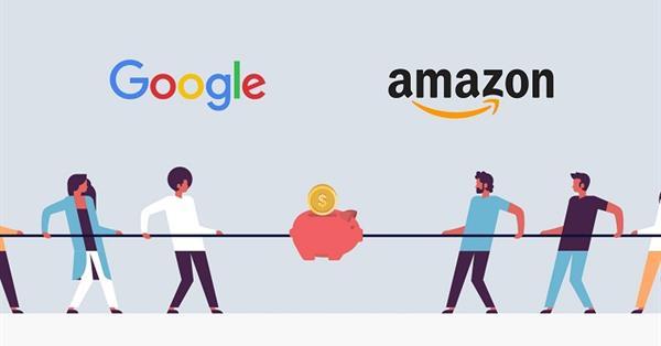 eMarketer: Google доминирует на рынке поиска в США, но Amazon сокращает разрыв