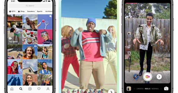 Instagram тестирует новый формат «историй» по типу видеороликов из TikTok