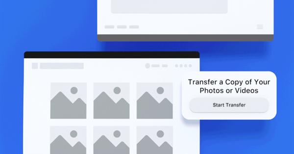 Facebook позволит копировать фотографии из соцсети в Google Photos