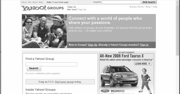 Пользователи Yahoo Groups получили больше времени на сохранение своих данных
