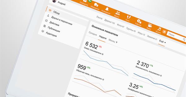 Одноклассники открыли пользователям статистику профилей