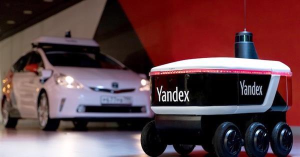 Яндекс начал испытания самоуправляемого робота-доставщика