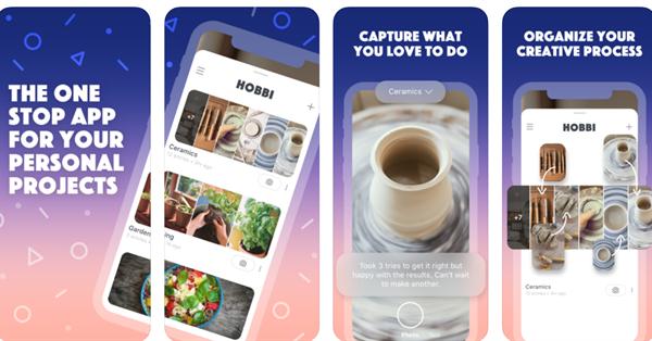 Facebook создал приложение по типу Pinterest