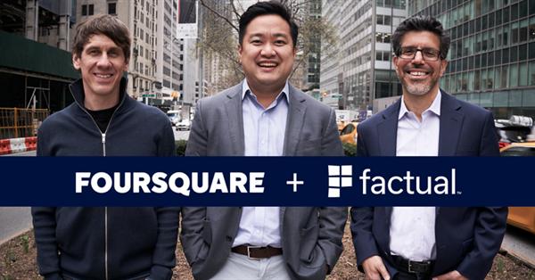 Foursquare и Factual объявили о слиянии