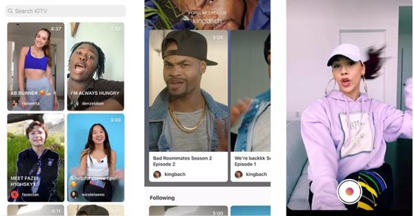 Instagram провёл редизайн приложения IGTV