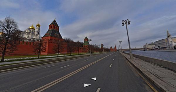 На Яндекс.Картах появились панорамы Москвы во время самоизоляции