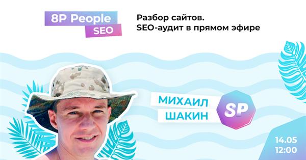 SEO-аудит сайта от Михаила Шакина в прямом эфире