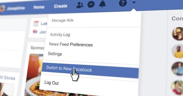 Новый дизайн Facebook.com стал доступен пользователям по всему миру