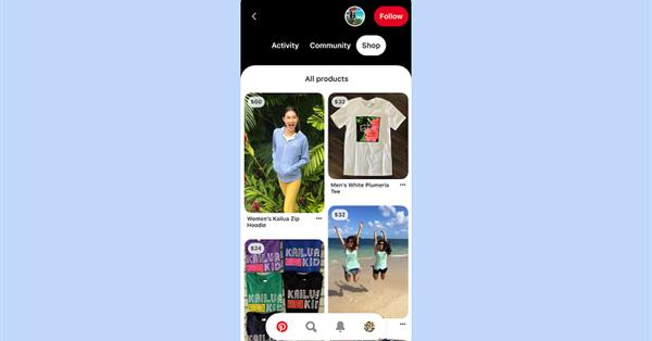 Клиенты Shopify смогут превращать свои каталоги в товарные пины