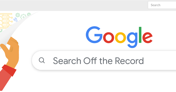 Google has published the first issue of a new podcast Search Off the Record