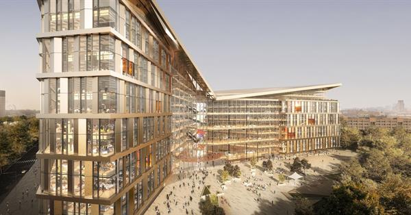 Yandex submitted a draft of the new headquarters