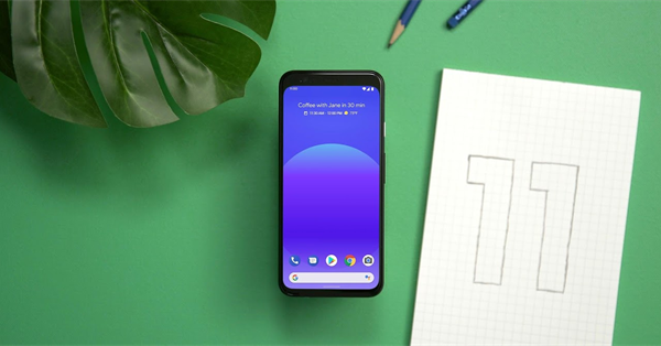 Google представил бета-версию Android 11