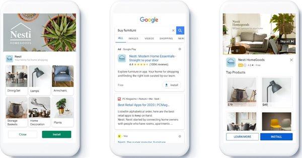 Google Ads анонсировал запуск фидов в кампаниях для приложений