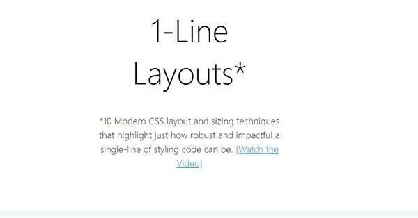 Google представил однострочные CSS-шаблоны