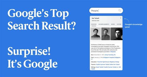 41% первой страницы результатов поиска Google занимают его продукты – исследование
