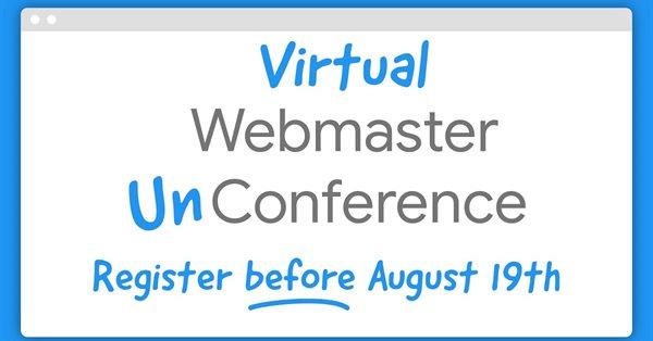 Google анонсировал свою первую Virtual Webmaster Unconference