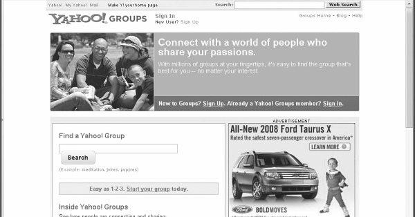 Сервис Yahoo Groups прекратит своё существование 15 декабря